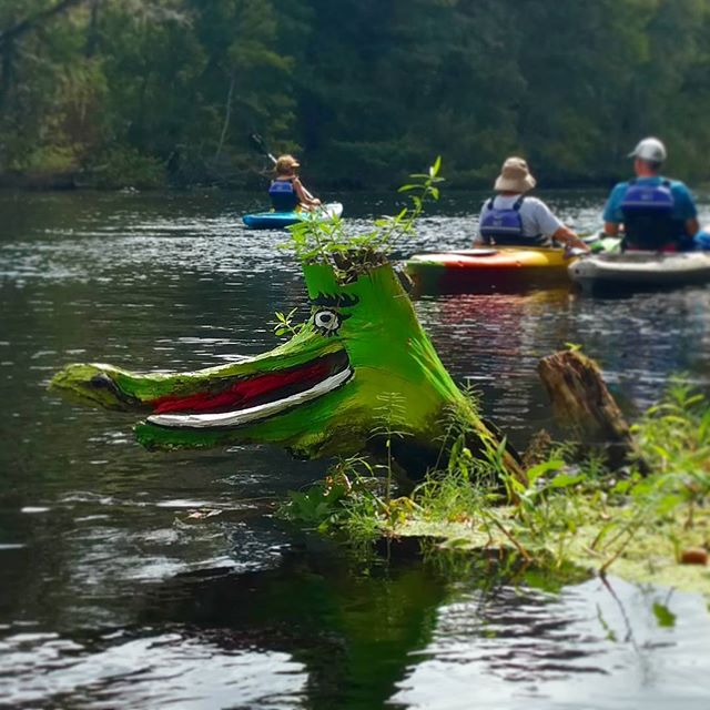 The guardian of the Withlacoochee River