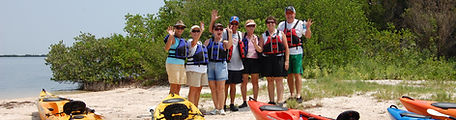 Silver River Kayak rentals, kayak tour, kayaking, on island
