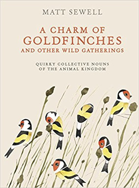 Charming Book- A Charm of Goldfinches and other wild gatherings
