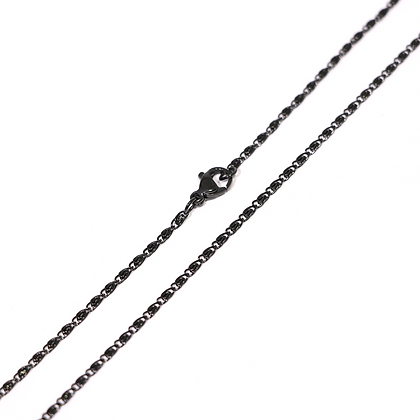 Cadena Acero Inoxidable Negro NC201060B-2-60