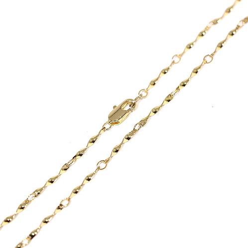Cadena Baño de Oro 16K 6423300-48