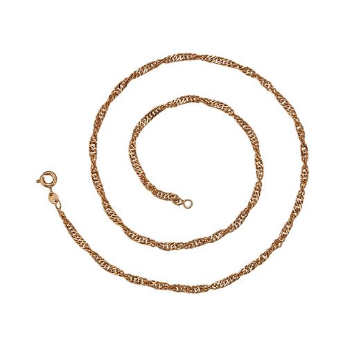 Cadena Baño de Oro 18K 46830-47