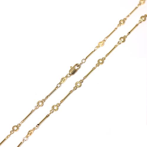 Cadena Baño de Oro 16K 6423352-48