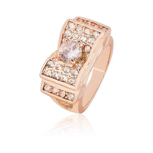 Anillo Baño de Oro Rosa 8320229-7