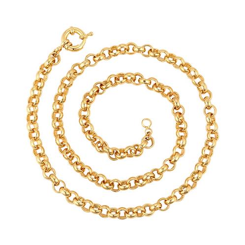 Cadena Baño de Oro 24K 46782-60