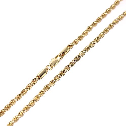 Cadena Baño de Oro Champagne N110918022-3-50