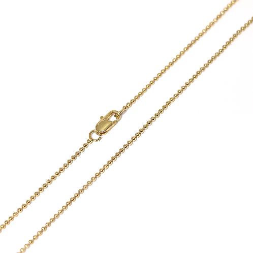 Cadena Baño de Oro 16K 6423370-40