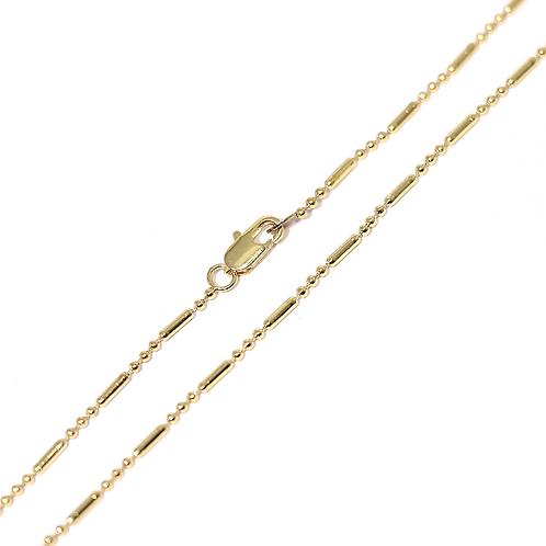 Cadena Baño de Oro 16K 6443125-60