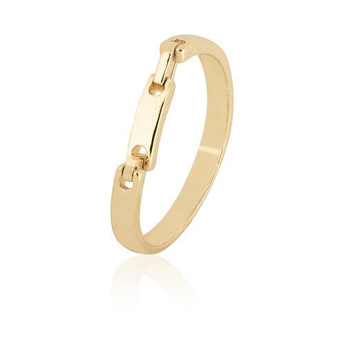 Anillo Baño de Oro 14K 53100074-10