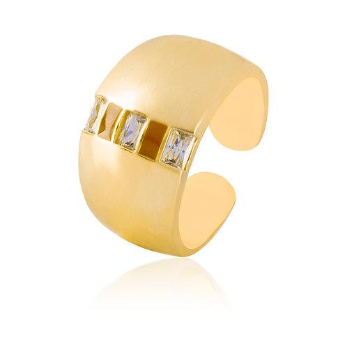Anillo Baño de Oro 18K 12739