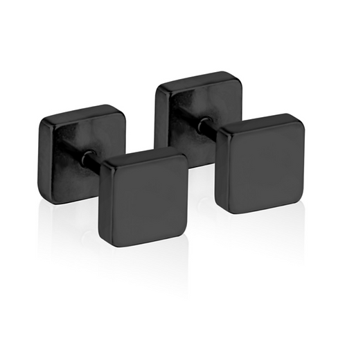 Broquel Acero Inoxidable Negro EA604208B
