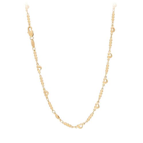 Cadena Baño de Oro 18K 1423848-45