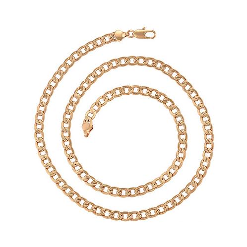 Cadena Baño de Oro Rosa 45354-60