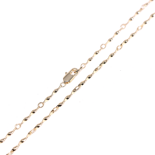 Cadena Baño de Oro Rosa 84190200-60