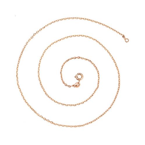 Cadena Baño de Oro Rosa 45430-60