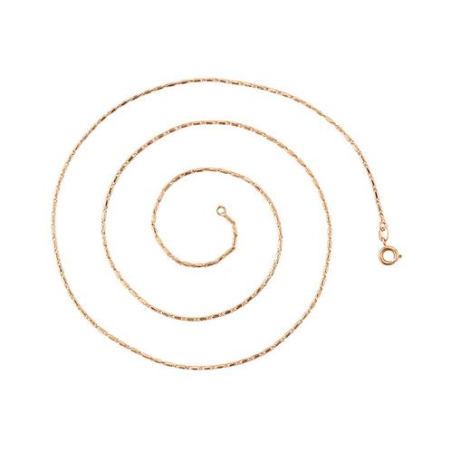 Cadena Baño de Oro Rosa 45164-60