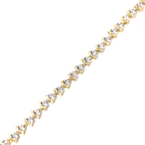 Pulsera Baño de Oro 18K BR188918238