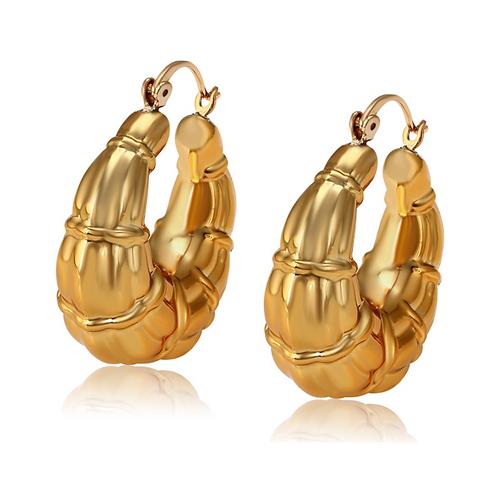 Arracadas Baño de Oro 18K 1016-1-34