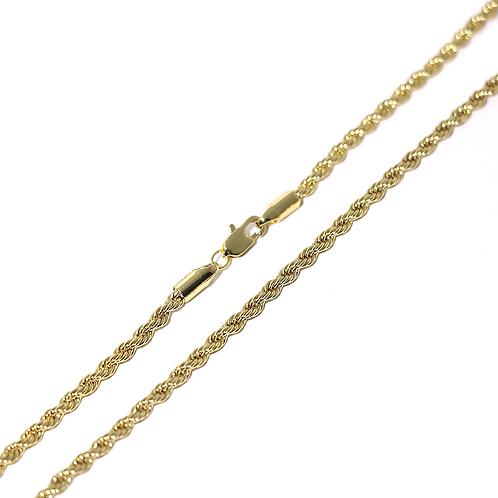 Cadena Baño de Oro 16K 64100050-50