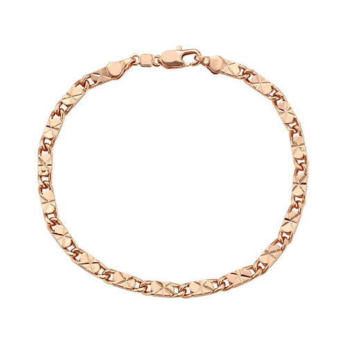 Esclava Baño de Oro Rosa 628005-21