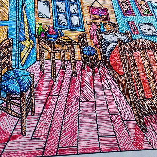 El cuarto de van gogh (la línea)