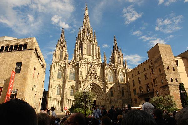 catedral de la santa cruz y santa eulalia