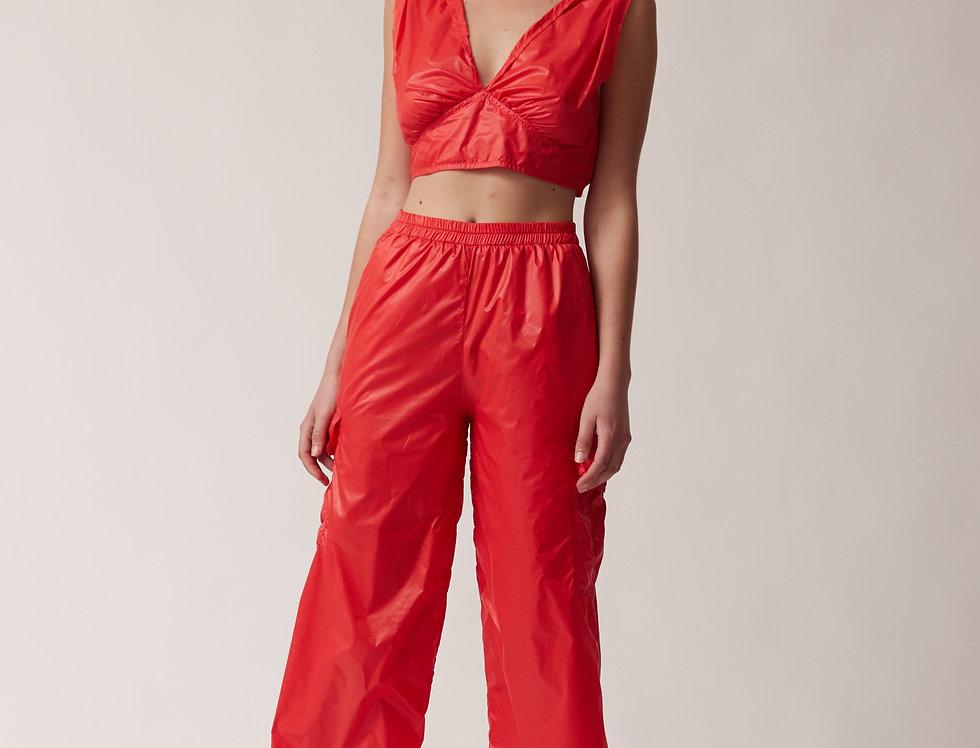 Cargo Cherry Trousers