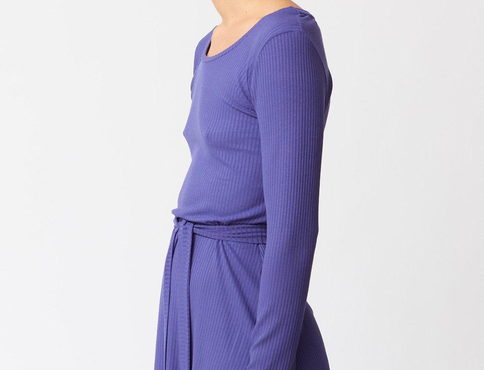 Grace Ribbed short dress