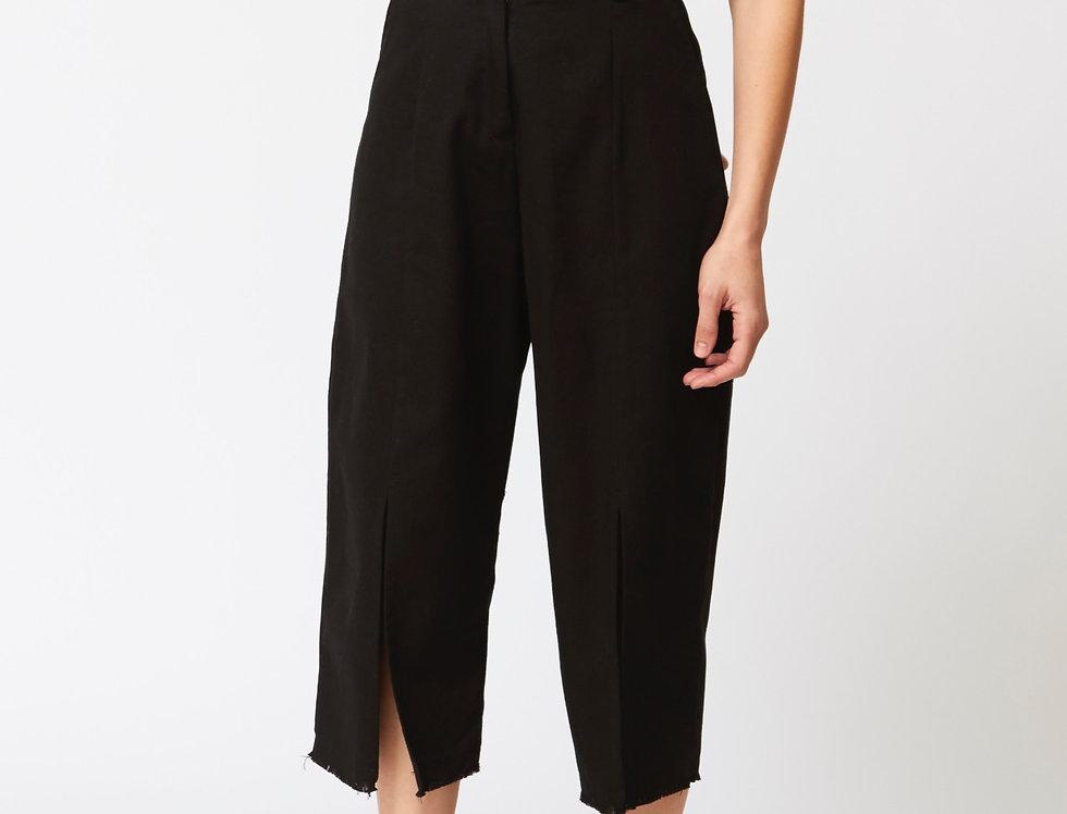 High waisted capri Organic Cotton trousers