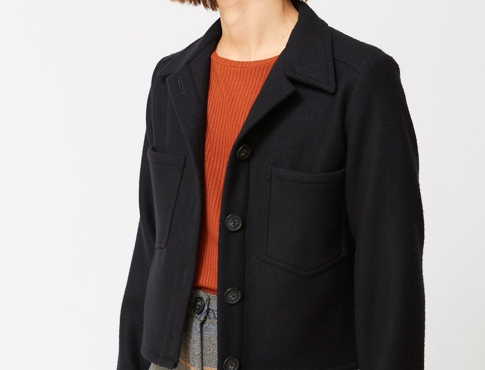 Navy Wool jacket