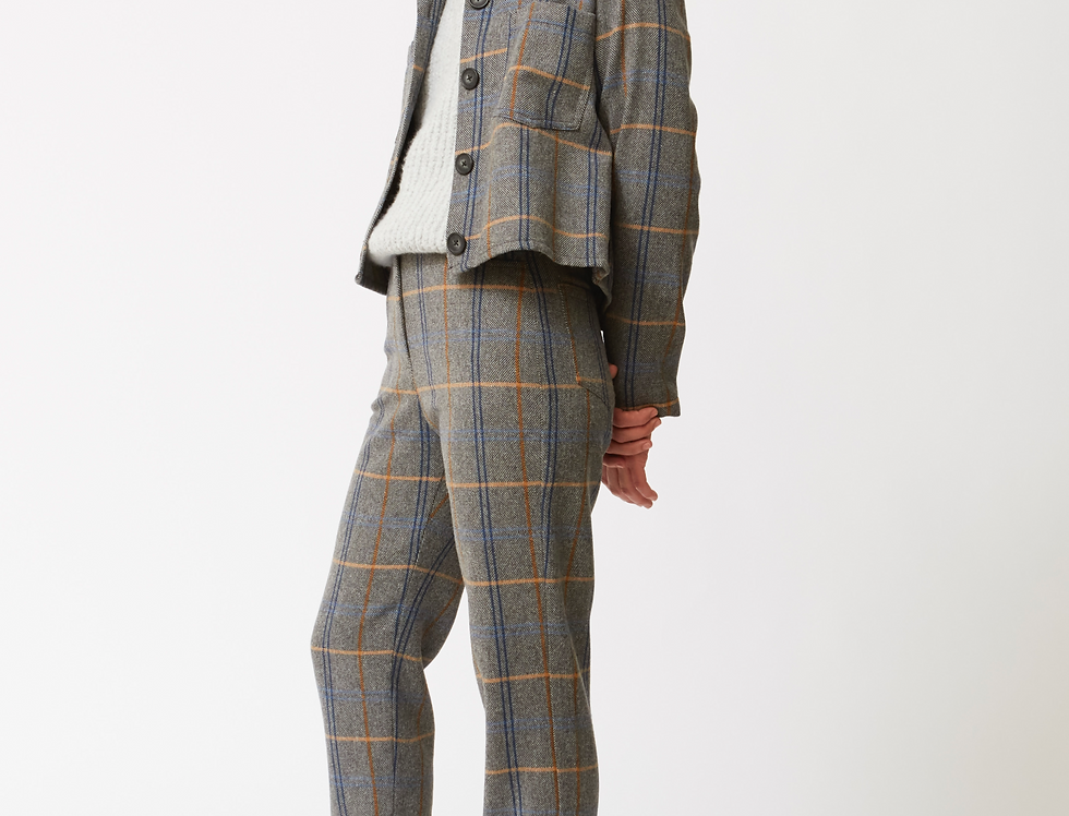 Cris wool squares Trousers