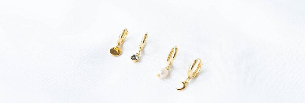 Mar Hoop Earrings