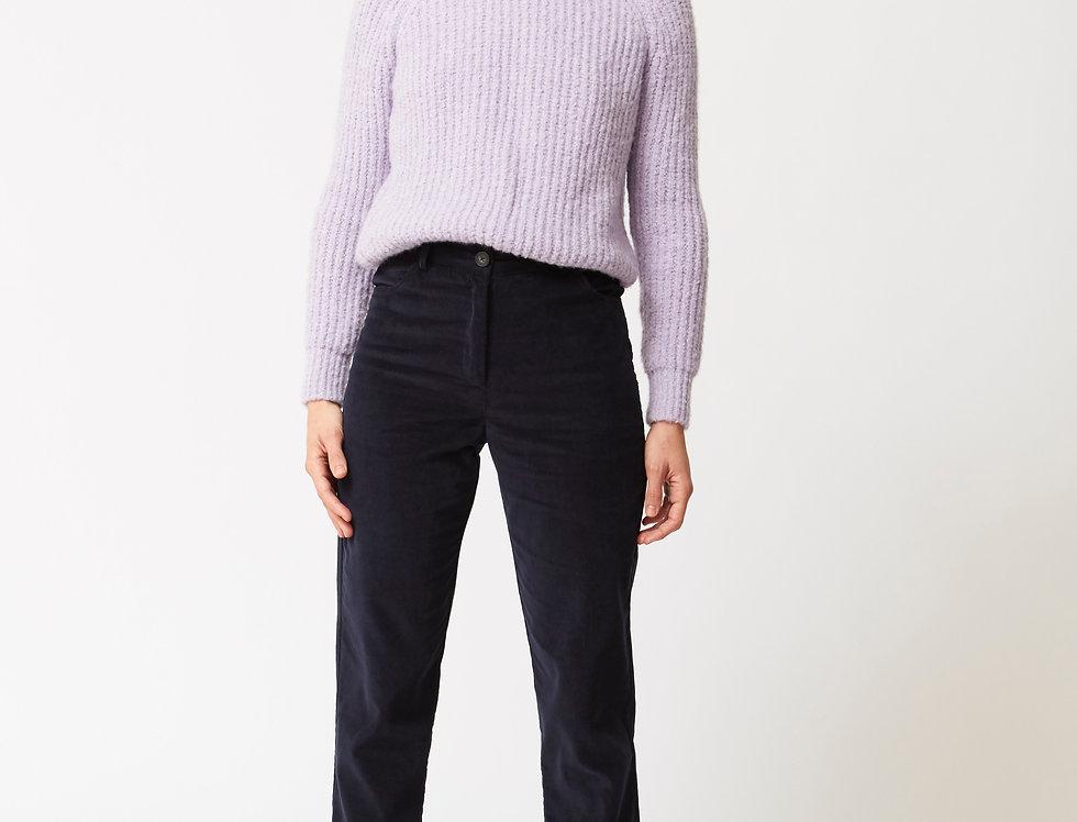 High waist Corduroy trousers