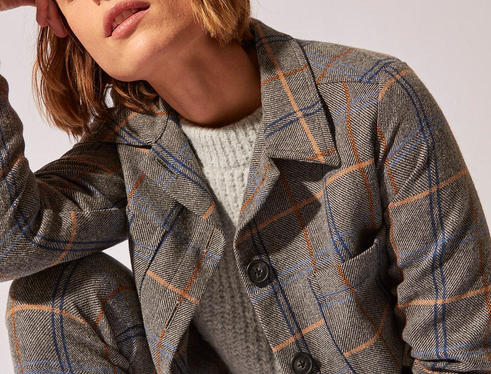 Cris wool squares jacket
