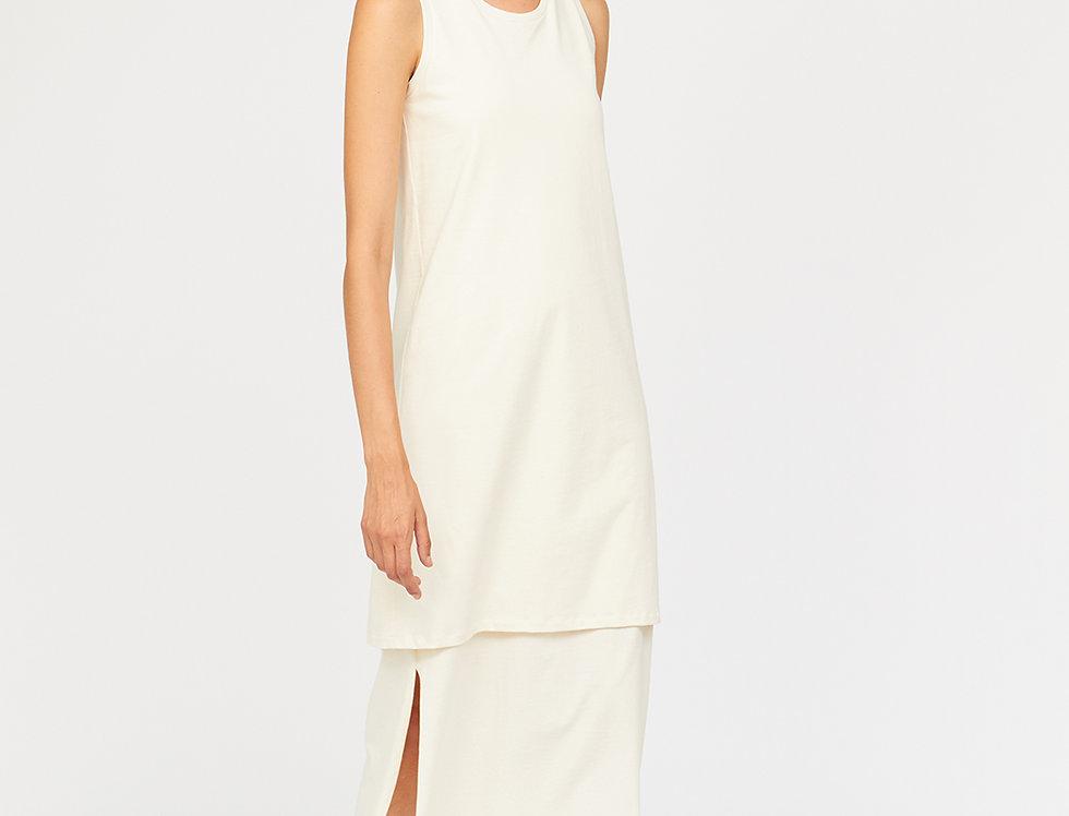 Organic cotton layer dress