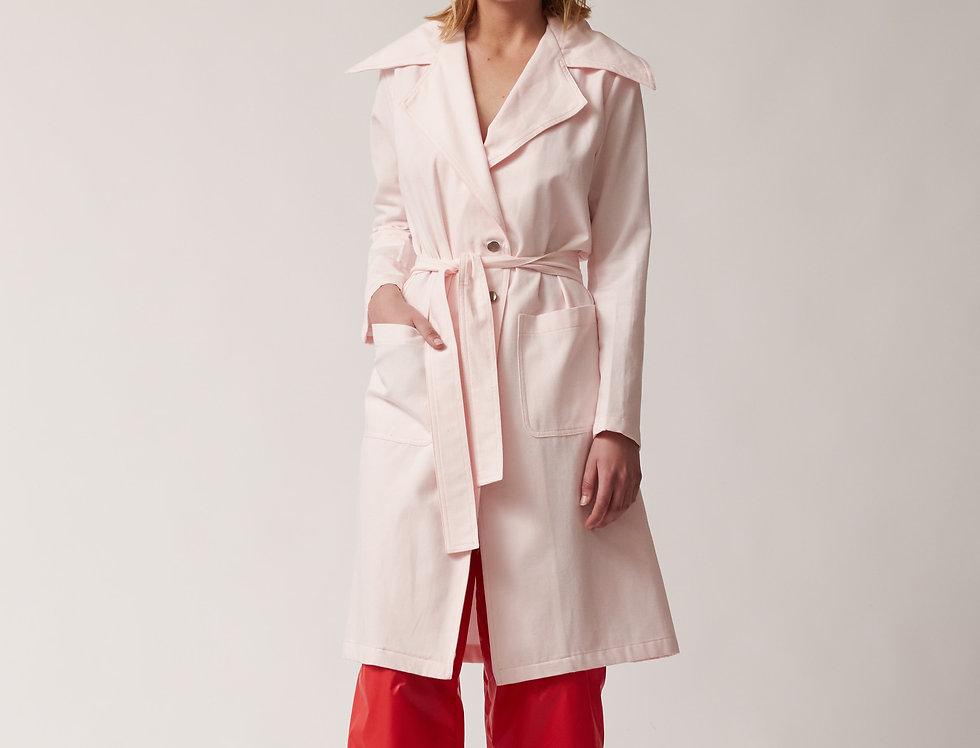 Organic Cotton Trench