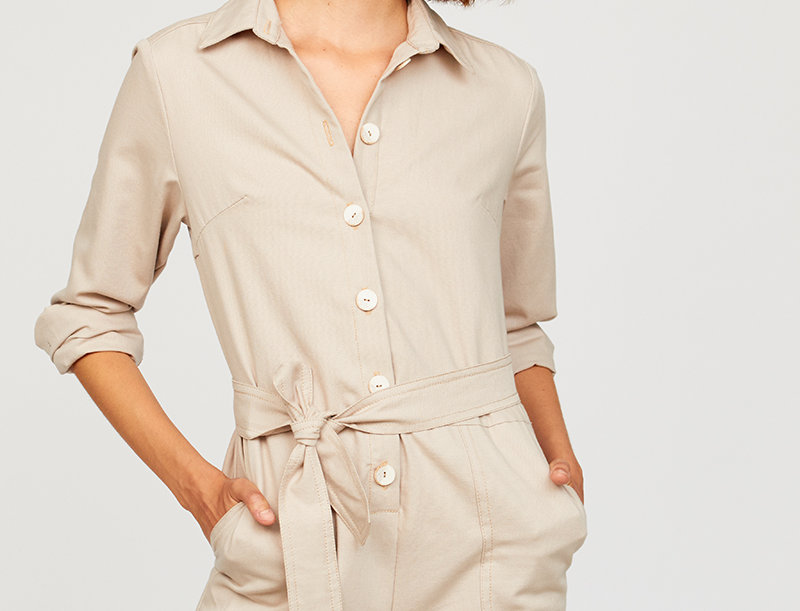 Organic Cotton Jumpsuit