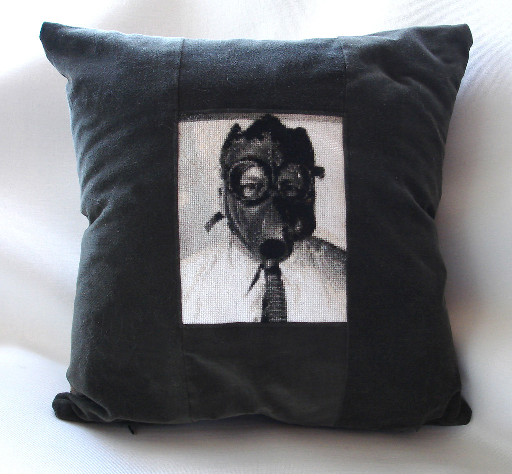 Gas Mask Pillow, 2007