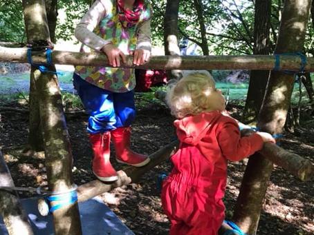 Schemas in Forest School and Outdoor Play