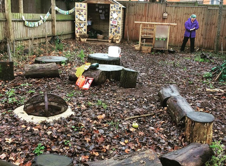 Beyond Sustainability at Forest School : Part 1