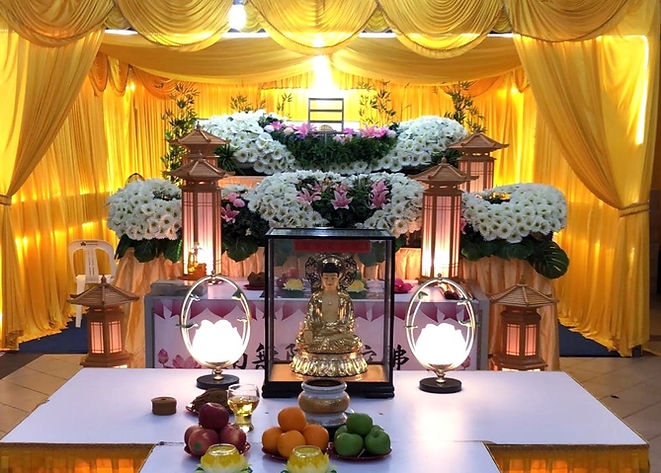 Singapore Buddhist Funeral Service
