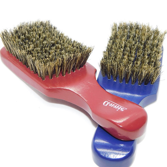 Curved Wave Brush with Handle - Medium