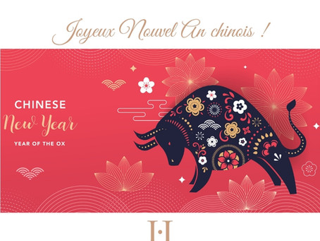 Joyeux Nouvel An chinois 2021, l'année du Buffle de métal !