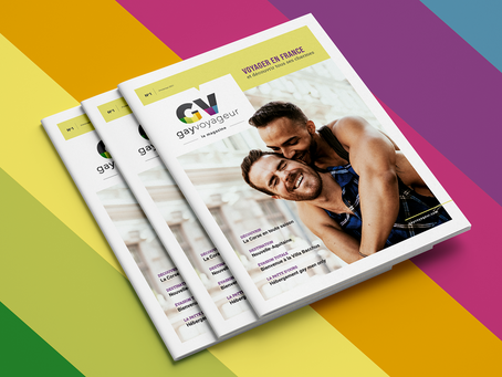 Le Gay Voyageur lance aujourd'hui son magazine touristique