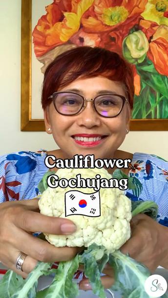 Kembang Kol Gochujang (Cauliflower Gochujang)