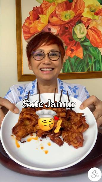Sate Jamur (Mushroom Satay)