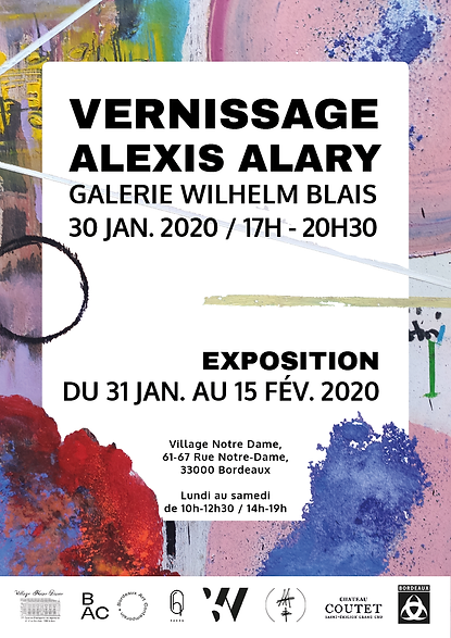 Vernissage A.ALARY - Affiche.png