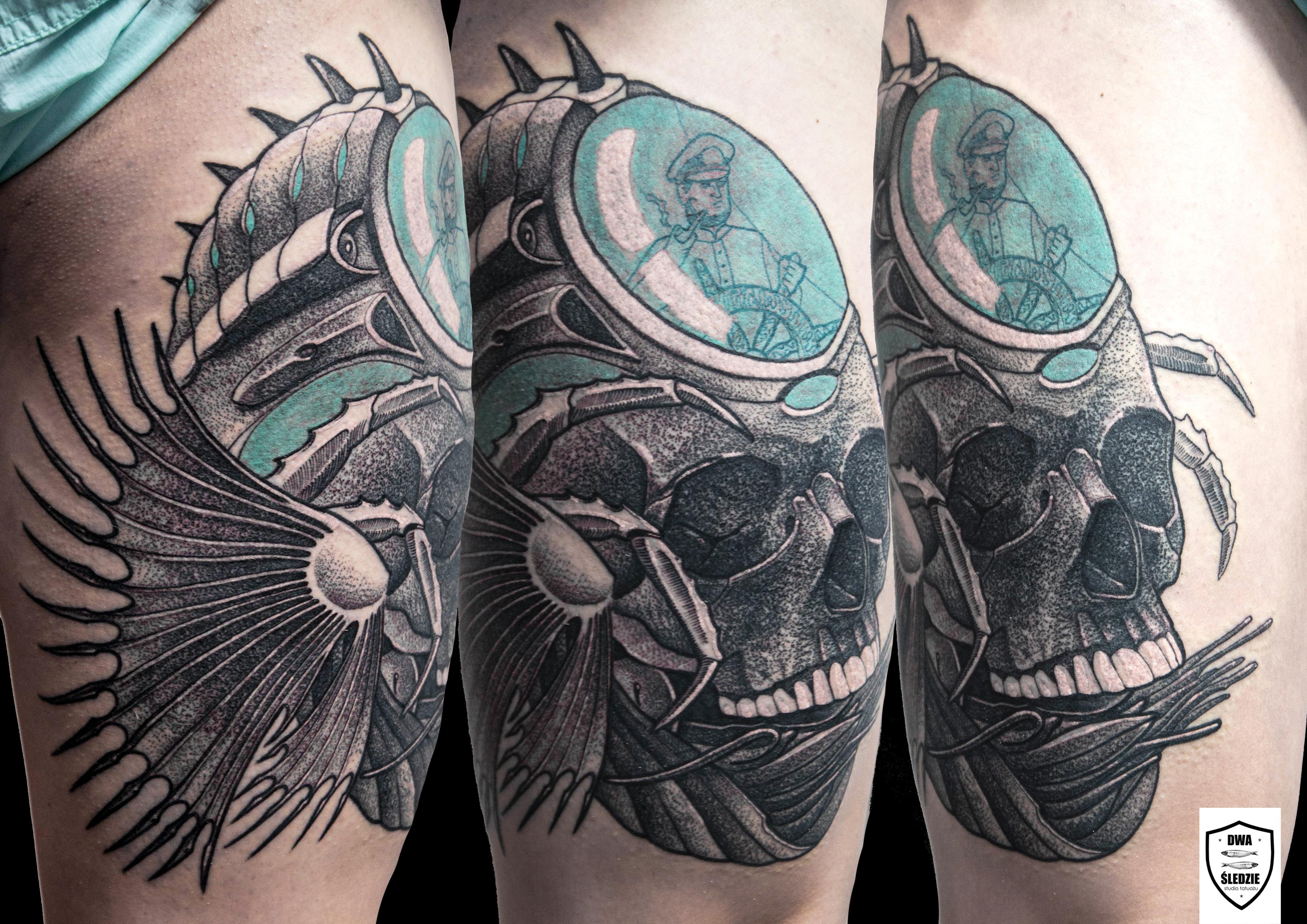 tatuaż morski