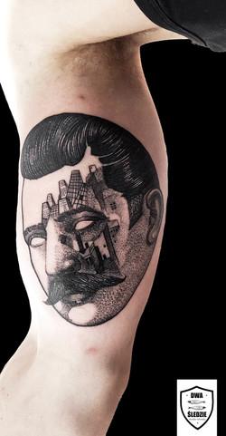 tatuaż portret