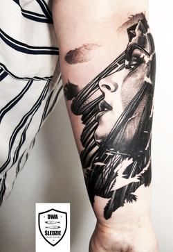 tatuaż Wonder Woman